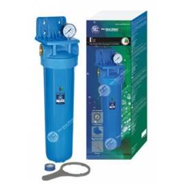 """AF-48 20"""" Aquafilter ® : Sujección, manometro, rosca exterior y llave de polipropileno"""