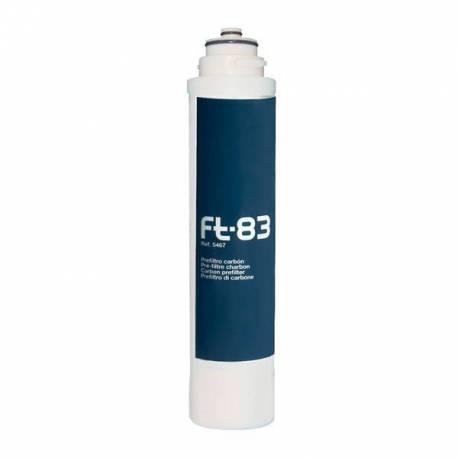Cartucho Greenfilter FT-83 100% Carbón activo de coco granulado