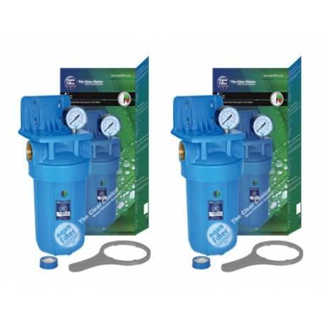 Filtro de agua Aqua Filter doble carcasa AF-24