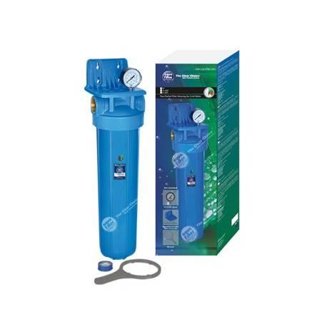 """AF-48 20"""" Aquafilter ®: Sujeción, manómetro, rosca exterior y llave de polipropileno"""