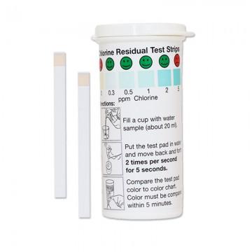 Tiras de medición de cloro...