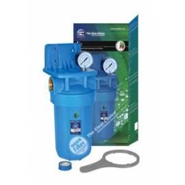 """AF-24 10"""" Aquafilter ® Sujección, manometro, rosca exterior y llave de polipropileno"""