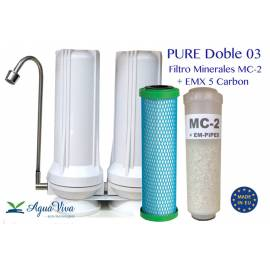 PURE Doble - Minerales + Cartucho EMX 5